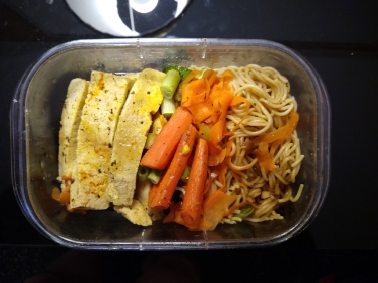 tofu lunch box